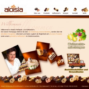 Aloisia Website